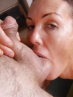 Mature Ball Licking Pics